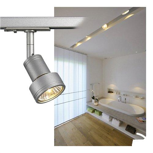 SLV PURI Leuchte Aluminium/Kunststoff PC Silber
