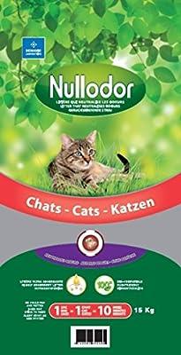 Nullodor Cat Litter, 15 Kg