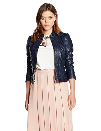 BOSS Orange Damen Jacke Janassi, Blau (Dark Blue 407), 38