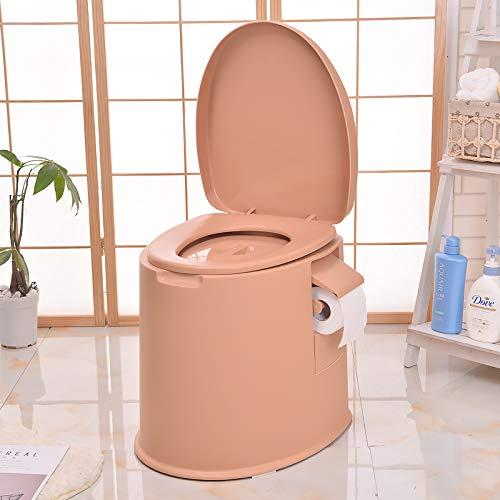 WC Premium Campingtoilette für Mobilehome Toiletteneimer Kompost WC BO Camp WC Reise - Farbe Gold & WEIß (Gold)