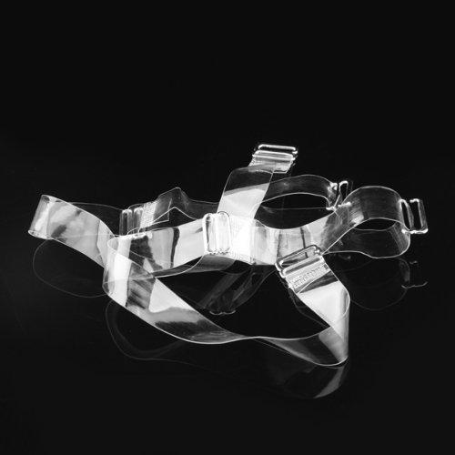 Gleader 2 spalline bretelle trasparenti per reggiseni intimissimi