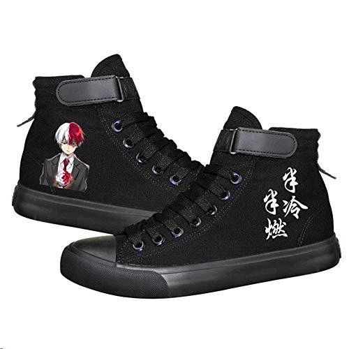 Unisex Anime Cosplay Anime Zapatos de Lona Izuku...
