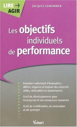 Définir des objectifs individuels de performance