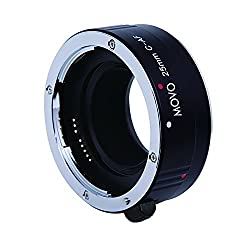Movo Photo AF 25mm Macro Extension Tube for Canon EOS DSLR Camera (Metal Mount)