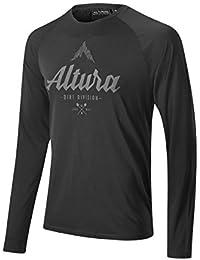 T-shirt manches raglan Altura 2016 Script Noir