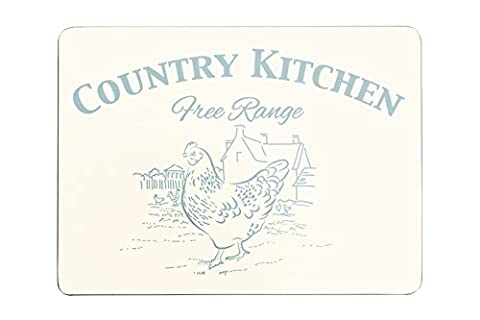Premier Housewares Country Kitchen Placemats - Set of 4