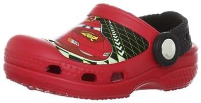 Crocs Lightning McQueen, Sabots mixte enfant, Rouge (Red), EU 19-21, (US C4C5)