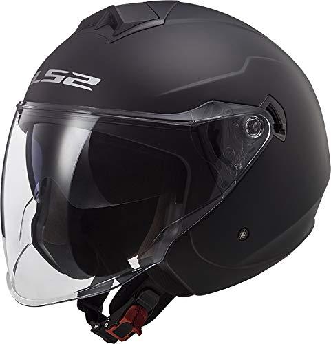 LS2 Casco Moto OF573 TWISTER II Singolo Mono Matt Black, M
