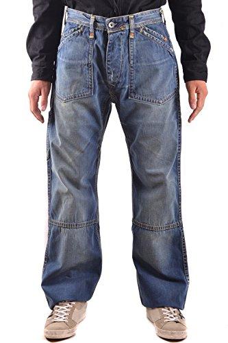 Evisu Herren Mcbi338012o Blau Baumwolle Jeans