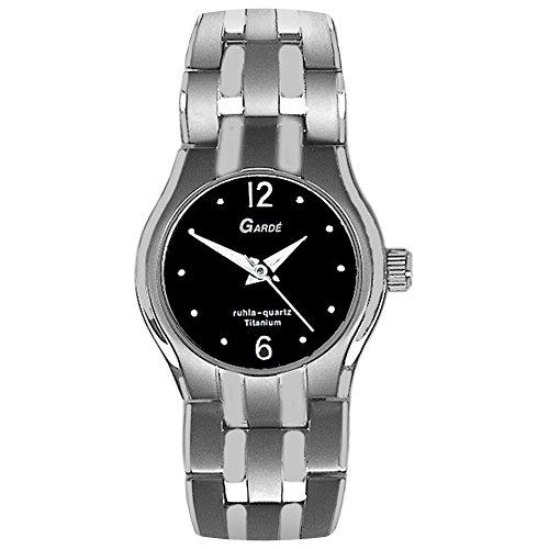 Garde da donna orologio da polso elegante analogico titanio Bracciale in...