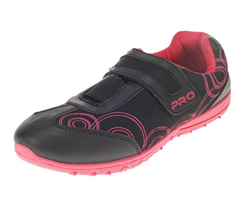 Pro (from Khadims) Womens Black Faux Leather Sports Shoes - 4
