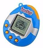 B_Mayshow Kinder Spielzeug Videospiele E-Haustier Spielzeug Handheld Schlüsselanhänger Maschine Spiel Elektronische Haustier Maschine * 1 (Blau)