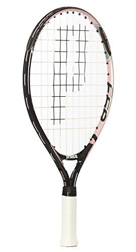 Prince Pink 19 - Raqueta de tenis para niños, color rosa / negro, talla 0