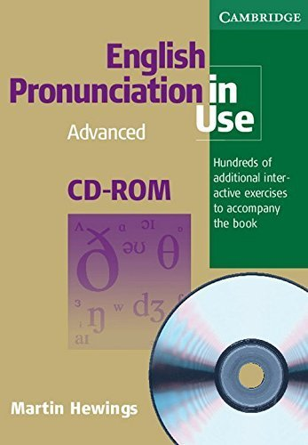 English Pronunciation in Use Advanced CD-ROM for Windows and Mac (single user) by Martin Hewings (2007-05-21)