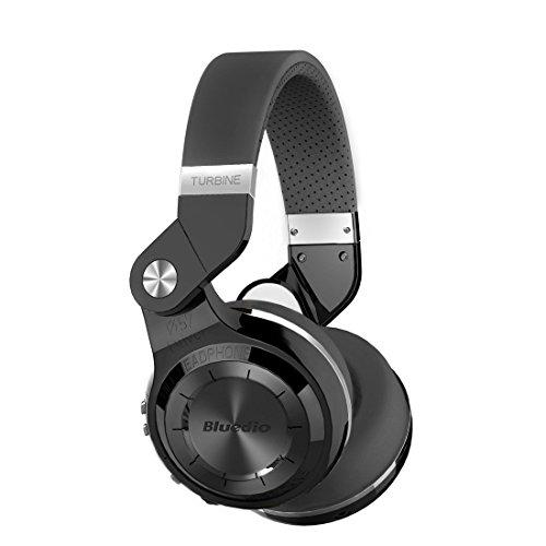 Cuffie stereo Bluetooth 4.1, ottima qualità e bassi profondi (Nero)