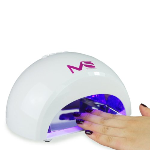 LED Nageltrockner – Lichthärtegerät weiss für LED Gele - 3