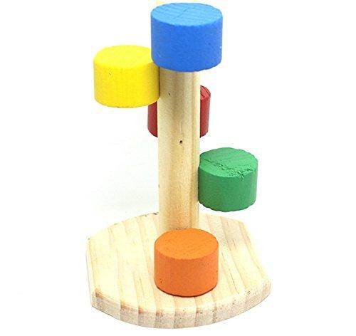 Vi.yo klein, für Spielzeug, Holz, für Hamster und Rennmäuse -