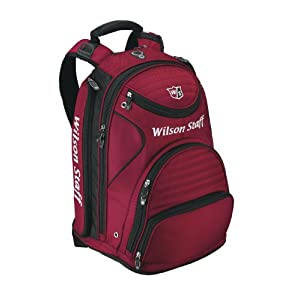 41d2IPeKQYL. SS300  - Wilson WGB140700DRED Staff - Mochila, Color Rojo y Negro