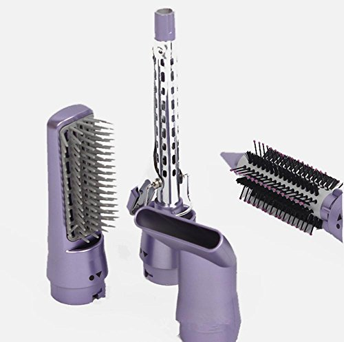 WGE 4 In 1 Haar Trockner Multifunktions Curl Haarglätter Pinsel Lockenwickler Portable Hot Und Cold Lockenstab Haarglätter Sets Hot Tools Keramik-haartrockner