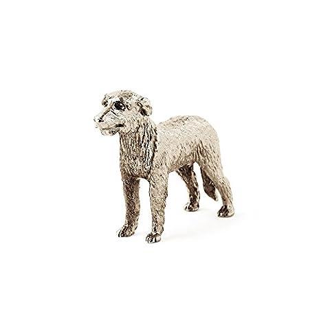 Irish Wolfhound dog figure made in UK (japan import)