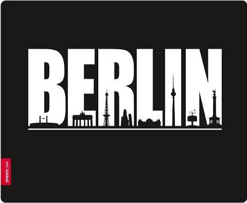 Speedlink Silk Mauspad Berlin (weiche Oberfläche, geringer Gleitwiderstand, gummierte Unterseite, verschiedene