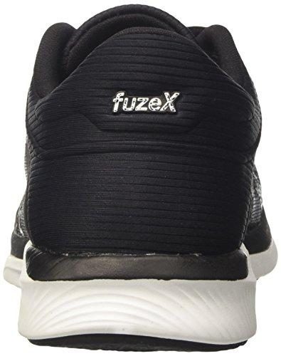 Asics Fuzex Rush, Scarpe da Ginnastica Donna Grigio (Midgrey/Black/White)