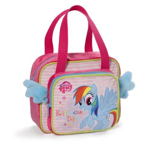 NICI 36232 - Borsetta in peluche, serie My Little Pony, 23 x 19 x 10 cm
