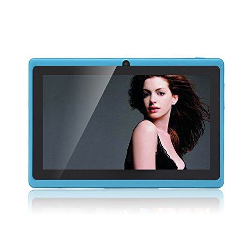 JEJA Tablet Android Google de 7 pulgadas PC 4.2.2 8GB 512MB DDR3 A23 Dual Core 1.5GHz Cámara capacitiva de la pantalla Wifi - Azul Celeste