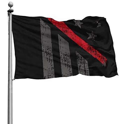 Onled Banderas de jardín de Temporada Exteriores, Bandera de Estados Unidos con Hacha Decorativa. Duradera...