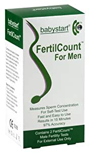 Babystart FertilCount Male Fertility Test Kit 2-Pack