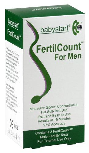 2 Tests Babystart Fertilcount ? - Fruchtbarkeitstest für den Mann