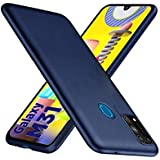 WOW Imagine Anti Slip Flexible Shockproof Case for Galaxy M31 Prime / M31 / F41 | All Sides Protective Rubberised Soft Back Case Cover with Camera Protection for Samsung Galaxy M31 / F41 - Washington Blue