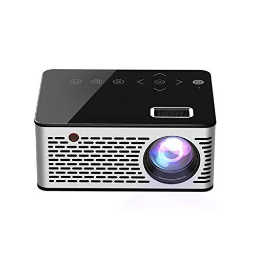 T200 LED Mini Projektor HD 1080P 500LM Tragbare HDMI USB AV Unterstützung Power Bank Aufladung für Going im Freien - schwarz
