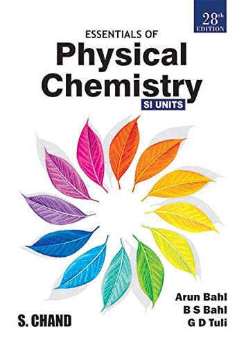Essentials of Physical Chemistry, 28/e