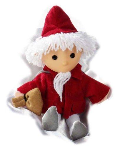 Heunec 664418 - Sandmann Puppe in rot mit Musikzugwerk, 20 cm