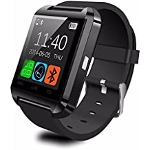 Smartwatch Bluetooth U8 Android IOS impermeable GPS de alta calidad reloj de pulsera inteligente para Android Smartphone