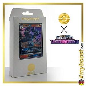 Lucario-GX SM100 - #myboost X Sonne & Mond 6 Grauen Der Lichtfinsternis - Box de 10 Cartas Pokémon Aleman