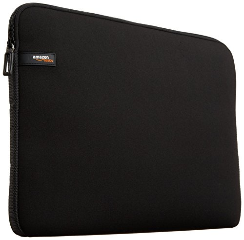 AmazonBasics 15.6-inch Laptop Sleeve (Black)