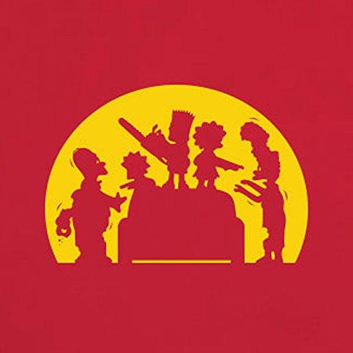 Springfield Zombies - Herren T-Shirt Blau