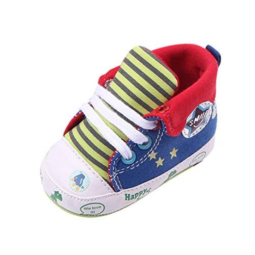 d0c0a4a57c UOMOGO Royal Scarpine Neonato Sneaker Sportive, Scarpine Neonato per Mesi  Scarpe Sportive 0-18 Mesi (IT 19, Rosso)