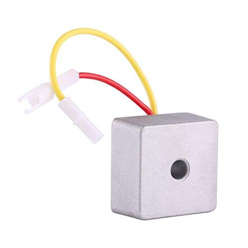 Qiilu Regulador de voltaje automático rectificador para Briggs 0026 Stratton 691188 491546...