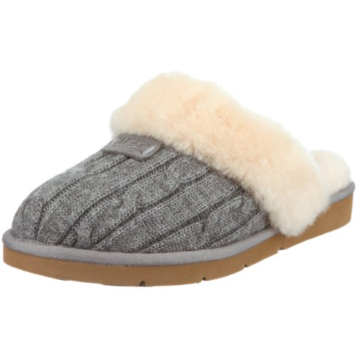 Ugg Cozy Knit , Pantofole, Donna, Grigio (Grau (heathered grey)), 36