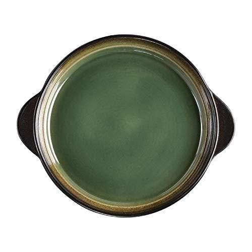 Olympia Nomi runde Tapasschalen grün-schwarz 19cm