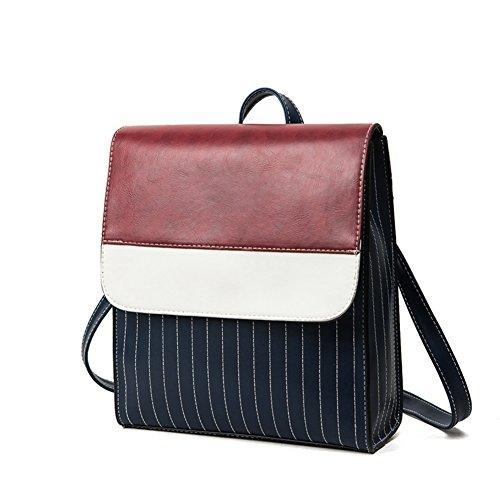 La version coréenne des sacs à bandoulière élégant contraste couleur/Sac à dos simple-A A