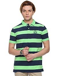Classic Polo Striped Men's Polo Neck Multicolor T-Shirt