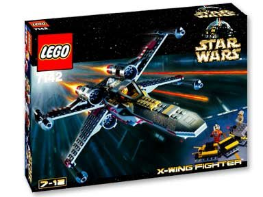 Lego-sets 2002 (LEGO Star Wars 7142 - X-WING FIGHTER von 2002 - Classic)