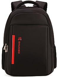 YiYiNoe Laptop Backpack For 15.6 Inch Waterproof Business Travel Rucksack Bag For Men Black