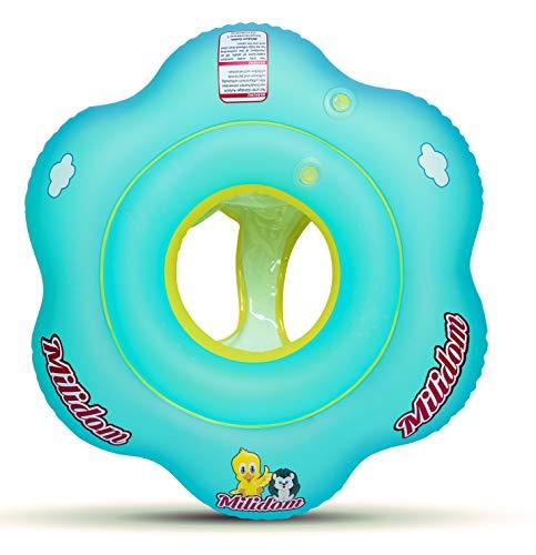 Milidom® Schwimmring Baby I Schwimmhilfe I Schwimmreifen I Schwimmtrainer ab 6 Monate-3 Jahre