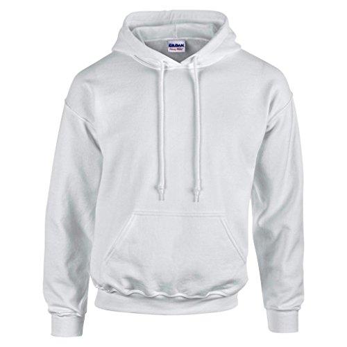 MAKZ Gildan Heavy Blend Kapuzen Sweatshirt, Grau - Ash, XL - Ash Grau Kapuzen-sweatshirt