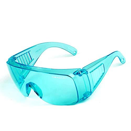Bishilin Sportbrille Polarisiert Blaugrün Schutzbrille Beschlagfrei Sicherheitsbrille...